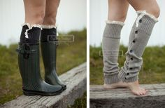 Women's Button Down Leg Warmers - 7 Amazing Colors 59% off at Groopdealz