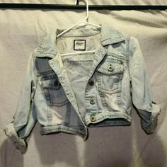 Highway Jeans Short Jean Jacket Beautiful light blue Jean jacket, a few small frays and yellow discolorations that came with the jacket. There are no deformaties due to lack of care, no stains/rips/holes etc. This jacket was used only a handful of times. Basically new! Highway Jeans Jackets & Coats Jean Jackets