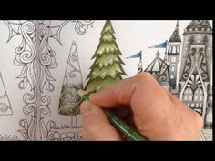 nice Part 3 - how to color a tree - coloring book enchanted forest - colored with prismacolor pencils Coloring Tips, Adult Coloring, Coloring Books, Coloring Pages, Enchanted Forest Book, Enchanted Forest Coloring Book, Colored Pencil Tutorial, Colored Pencil Techniques, Secret Garden Coloring Book