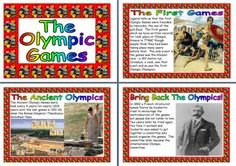 Olympic Games London 2012 Teaching Resources, Many free or low cost teaching resources for your Primary Classroom including worksheets, posters, banners, display lettering and more!