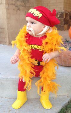 Hulkamaniac Baby. Hulk Hogan Costume.