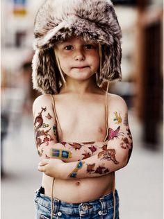 tattooed dude