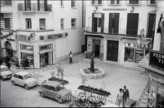 Plaza del Carbón, mayo de 1963. Malaga, Castle, Mansions, Country, House Styles, City, Bella, The Neighborhood, Old Photography
