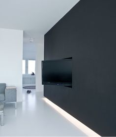 A really clean tv installation