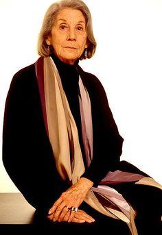 Nadine Gordimer, prix Nobel de littérature.