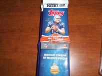 2012 Jumbo Packs Of Topps Football Football Trading Cards, Packing, Personal Care, Bag Packaging, Personal Hygiene