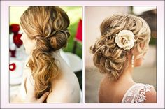 Romantic and Beautiful Prom Hairstyles for Long Hair Images - New Hairstyles, Haircuts & Hair Color Ideas Curly Prom Hair, Prom Hairstyles For Long Hair, Short Hair Updo, Older Women Hairstyles, Fancy Hairstyles, Headband Hairstyles, Vintage Hairstyles, Wedding Hairstyles, Teenage Hairstyles