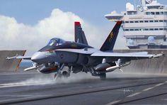 F/A-18C Hornet (Vincenzo Auletta)