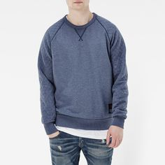 A polished take on the classic varsity sweat, this piece is made for any occasion when comfort and off-duty style are of equal importance.