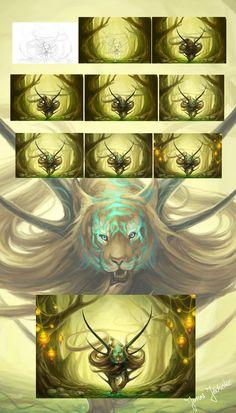 Step-by-Step by sanguisGelidus.deviantart.com on @DeviantArt