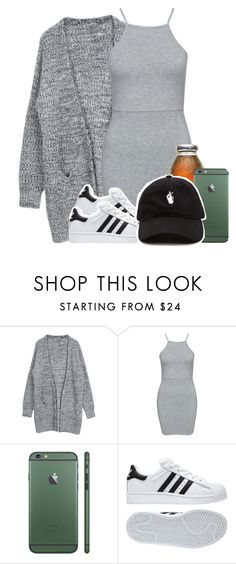 """Stupidbitch"" by l-ondonbridge ❤ liked on Polyvore featuring NLY Trend and adidas"