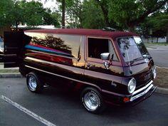 https://flic.kr/p/55K95m   1960's Dodge Van, Dude!   Westmont, IL Thurdsay Car Nights show  Fuji 50 fd