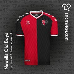 SuperLiga Argentina by Hummel Football Kits, T Shirt, Tops, Concept, River, Fashion, Football, Soccer Jerseys, Sports Shirts