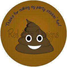 8196ceb1 Emoji Poop Stickers - Sheet of 20 - 2