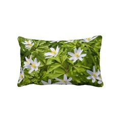 Wood Anemone #Pillows