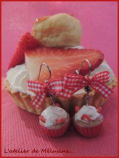 Cupcakes fraise