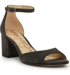 Main Image - Sam Edelman Susie d'Orsay Ankle Strap Sandal (Women)