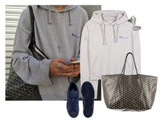 """""""This is a guy"""" by silkeaaberg ❤ liked on Polyvore featuring Vetements, Goyard, NUE, Gucci, Tessa Metcalfe and adidas"""