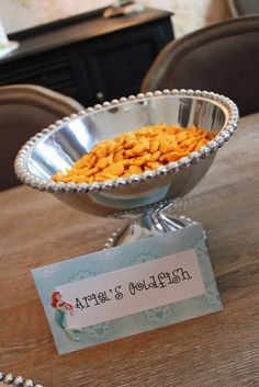 Ariel's goldfish