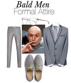 Bald Men Formal And Evening Attire Smart Casual, Casual Looks, Bald Men Style, Pin Man, Bald Man, Evening Attire, Men Formal, Business Events, Professional Look