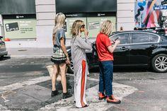 awesome Quizás no te gusten, pero son una tendencia viral: pantalones con franjas laterales