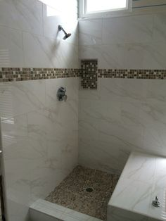 Carrera Porcelain Shower