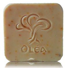 Χειροποίητο σαπούνι με ελαιόλαδο και πορτοκάλι παραγωγής μας ΟLEA Olive oil soap with orange