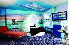 Fantasyland Hotel. Edmonton. Canada