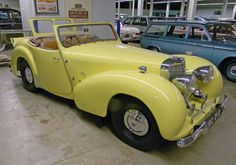 1949 Triumph 2000 Roadster Maintenance of old vehicles: the material for new cogs/casters/gears/pads could be cast polyamide which I (Cast polyamide) can produce