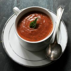 Roasted Tomato Soup Recipe | Diethood