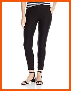 My Michelle Junior's Casual Work Pant with Gold Studs, Black, M - All about women (*Amazon Partner-Link)