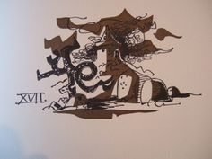"""""""Sonnet VII"""" illustration by Clive Hicks-Jenkins from 'The Barnfield Sonnets', 2001 (The Old Stile Press)"""