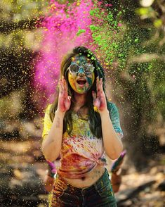 Holi is a very beautiful festival. Holi is Hindus fest that is related to religious story. According to astrologer Holi 2020 is very good for all. Holi is colourful fest. Festival Photography, Smoke Photography, Girl Photography Poses, Creative Photography, Photography Studios, Photography Tutorials, Canon Photography, Conceptual Photography, Photography Portfolio