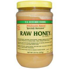 Y.S. Eco Bee Farms, #Raw #Honey, U.S. Grade A. iherb discount code: HLD630
