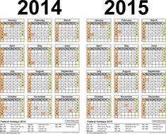 Calendars    For Two Year Calendar  Landscape