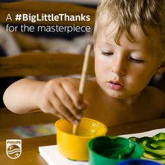 There is nothing sweeter than a piece of art from your kids. Say your #BigLittleThanks for your chance to win Philips products worth up to £1000. Find out more about #BigLittleThanks here: http://philips.com/thankyou