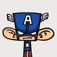 CAPTAIN AMERICA by MAD