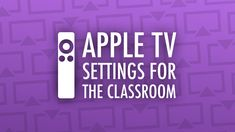 You don't have to live with Apple TV's default settings! I'd like to  recommend some tweaks to make Apple TV more classroom friendly. These  adjustments include hiding previews and icons on the Home screen,  preventing screen hijacking, using the screen saver as a digital bulletin  board, and other handy tips.