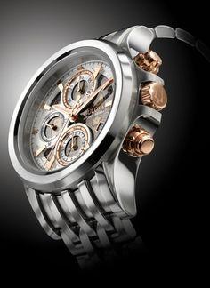 TimeZone : Industry News » Basel 2014 - Bulova Accutron Kirkwood Automatic Chronograph