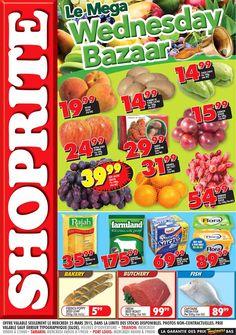 SHOPRITE Hyper - Le MEGA Wednesday Bazaar. Trianon - Tamarin - Port Louis. 25 Mars 2015