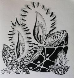 Zentangle... make your doodles make something!