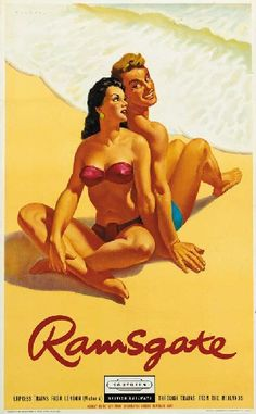 Every poster tells a story - Quad Royal Posters Uk, Train Posters, Beach Posters, Railway Posters, Cool Posters, Retro Advertising, Vintage Advertisements, British Seaside, Travel Ads