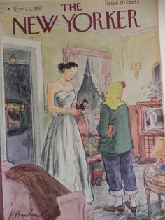 The New Yorker 1952 Magazine by sixtybeansVntg on Etsy, $9.95