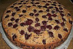 Super leckerer Nuss-Kirsch-Kuchen