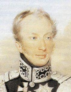 Koning Willem II als Prins van Oranje