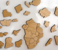 Kind magnetic map puzzle. Visit AMAMILLO.com
