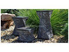 Kamenné fontány Torz jsou vyrobeny z přírodního kamene. Můžete je použít v…