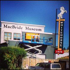 The MacBride Museum.