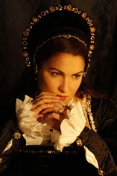 "Anna Netrebko starring as Anne Boleyn in Donizetti's ""Anna Bolena"" at the Met…"