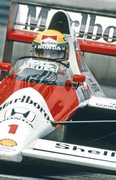 Aryton Senna - Mclaren Honda